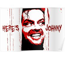 Here's Johnny Poster