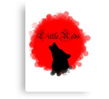 Little Reds Canvas Print