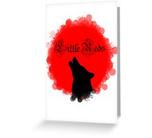 Little Reds Greeting Card