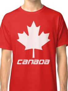 Maple Leaf - White Classic T-Shirt