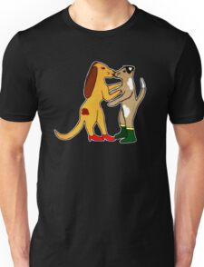 Dogs In Shoes Unisex T-Shirt
