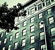 Windows - Downtown Cincinnati by Alex Baker