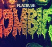 Flatbush Reptilians Zombies Sticker