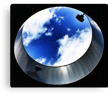 Window to the Clouds - U.C. Canvas Print