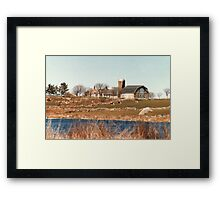 Old New England Farm Framed Print