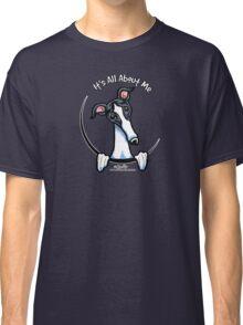White & Black Greyhound IAAM Classic T-Shirt