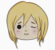 Krista (Historia) Wink! One Piece - Short Sleeve