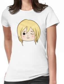 Krista (Historia) Wink! Womens Fitted T-Shirt