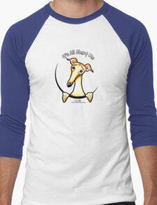 Fawn Greyhound IAAM Men's Baseball ¾ T-Shirt