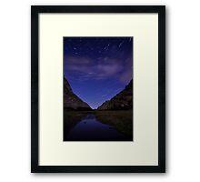 Startrails Gap Of Dunloe  Framed Print