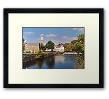 Slater Mill Complex Framed Print