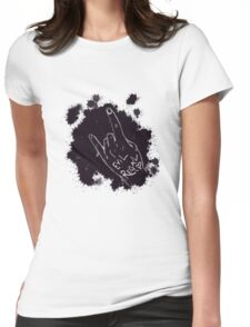 Evil Regal Sign Womens Fitted T-Shirt