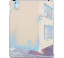 Lamp Post La Roche Guyon iPad Case/Skin