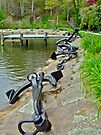 Anchors Aweigh - Spohr Garden - Cape Cod MA by MotherNature