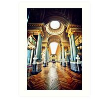 Paris 400 Art Print