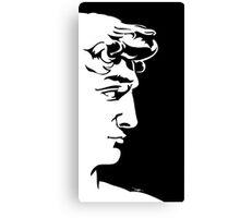 "David ""logo"" Canvas Print"