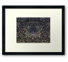 Intruder Protected Framed Print