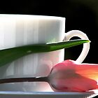 Demitasse and Tulips by AngieDavies