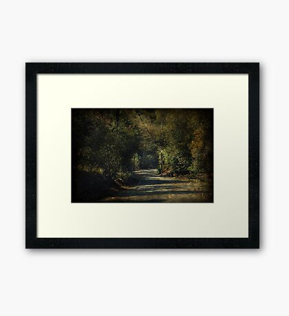 I'll Think of You Every Step of the Way Framed Print