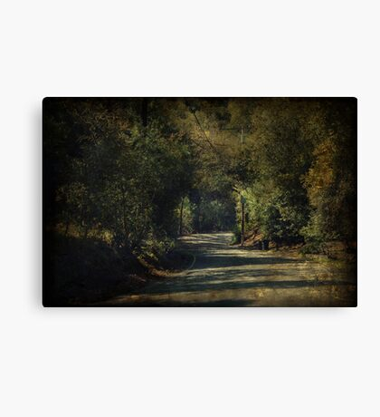 I'll Think of You Every Step of the Way Canvas Print