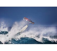 Pipeline Surfer 2 Photographic Print