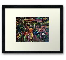 Art Whore Motel Framed Print