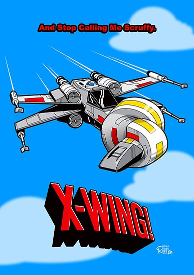 X-Wing! by Captain RibMan