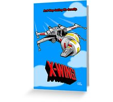 X-Wing! Greeting Card