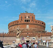 Castel Sant'Angelo by Tom Gomez