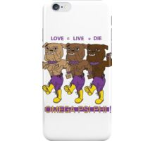 Omega Psi Phi - Love Live Die Dogs iPhone Case/Skin