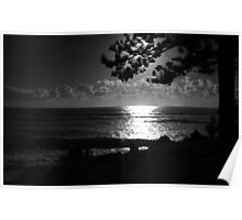 Classic Burleigh Heads Sunrise Poster