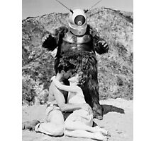 Space Gorilla??  King of B Movie Aliens Photographic Print