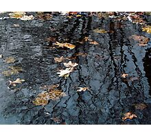 Rippled Reflection Photographic Print