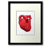 Anatomical heart  Framed Print