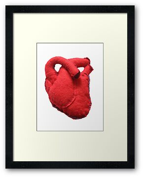 Anatomical heart  by Revital  Naumovsky