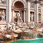 Trevi Fountain III by Tom Gomez