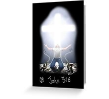 Power in Christ! Greeting Card