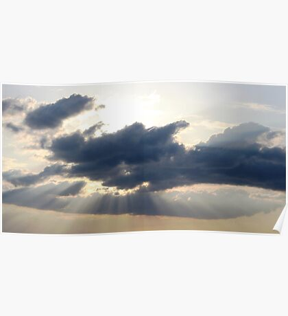 Rays From The Sky Poster