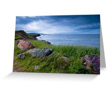 Cap le moine, Cape Breton Island, NS. Greeting Card
