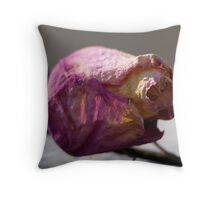 Resting on a Thorn Throw Pillow