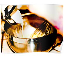 Tempering Eggs Poster
