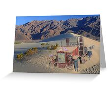 LOST TO THE SANDS OF TIME Greeting Card