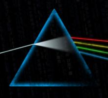 Dark Side of the Grid Sticker