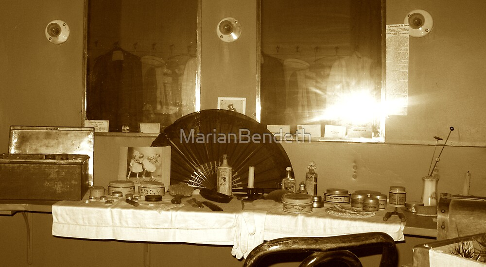 The changing room of a diva by MarianBendeth