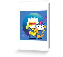 Mutant-Crossed Lovers Greeting Card