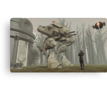 Earth Walker 2080 Canvas Print