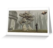 Earth Walker 2080 Greeting Card