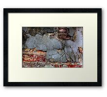 Layered Decay Framed Print