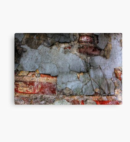Layered Decay Canvas Print