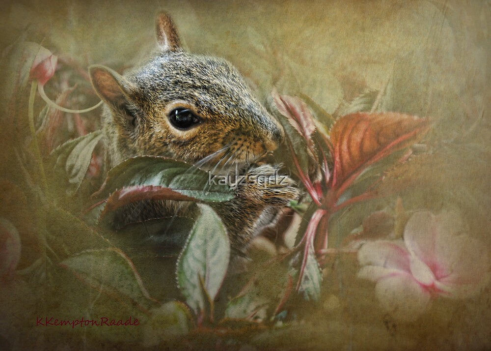 Impatiently Eating Flowers by Kay Kempton Raade